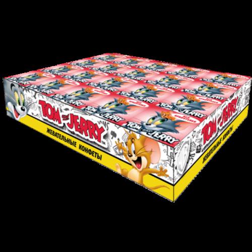 Tom and Jerry конфеты жевательные со вкусом Клубники 20 уп 250гр Артикул: 7088