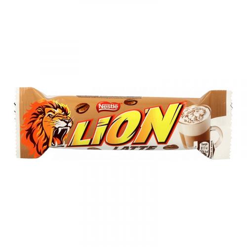 Nestle Lion Latte шоколадно-карамельный батончик 40гр Артикул: 7184
