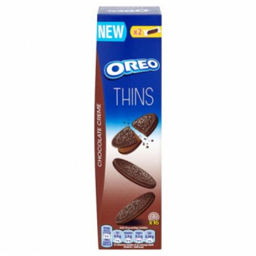 Oreo Crispy & Thin (Печенье С Шоколадным Кремом) 96гр. Артикул: 5263