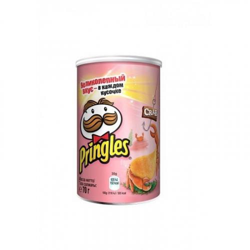 Pringles со вкусом Краба 70 гр Артикул: 7426