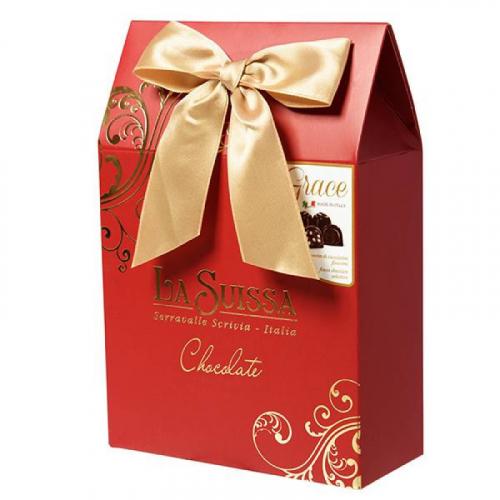 Набор Шоколадных Конфет La Suissa (красный) 215гр SALE Артикул: 5301