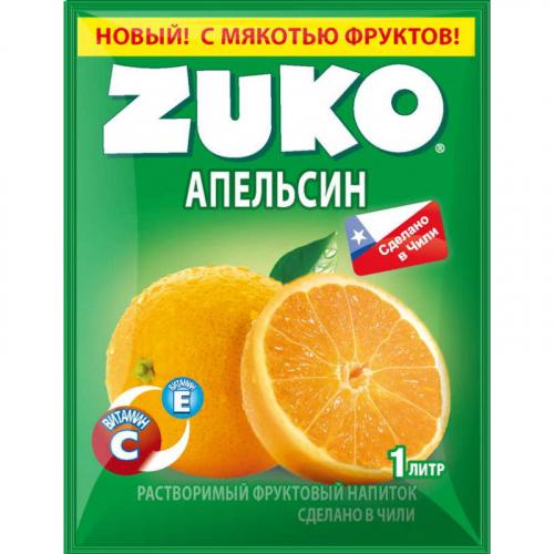 ZUKO Апельсин 25г Артикул: 6983