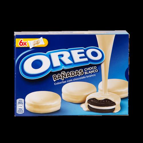 Орео Печенье 246гр в белом шоколаде Артикул: 5650