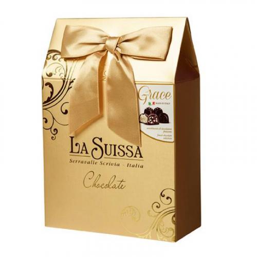 Набор Шоколадных Конфет La Suissa (золотой) 215гр SALE Артикул: 5302