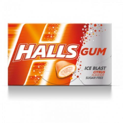 Жевательная резинка Halls Цитрус Артикул: 7433