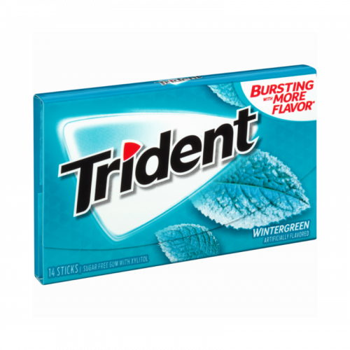 Trident Wintergreen Жевательная резинка Артикул: 7432
