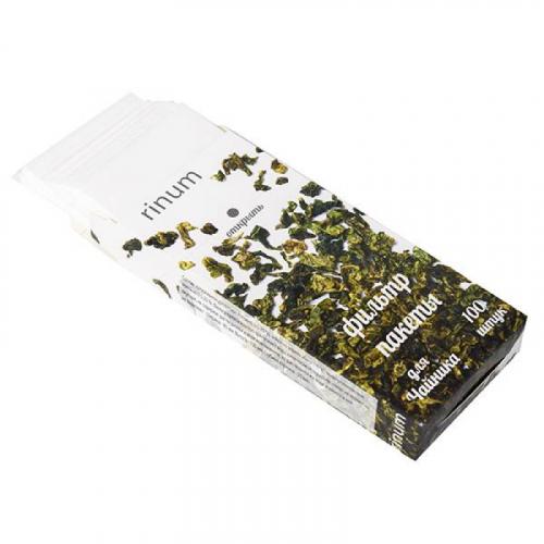 Пакетики для заварки чая 100шт Артикул: 1343