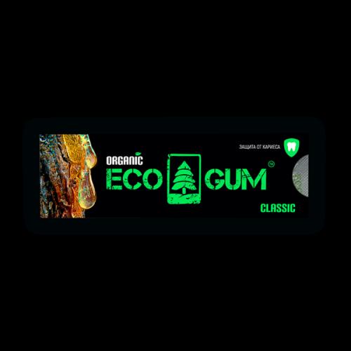Жевачка из чистой смолы сибирской лиственницы EcoGum классическая Артикул: 7080