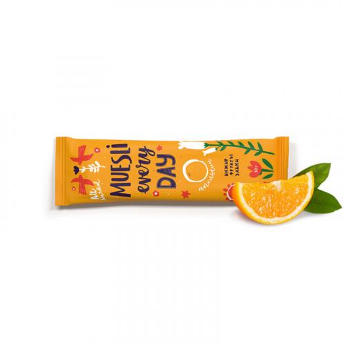 Фруктово-злаковый батончик EFFORT инжир с апельсином 50г Артикул: 7315