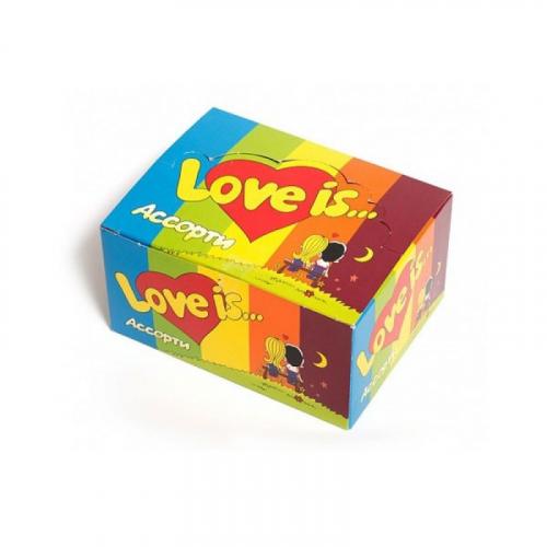 LOVE IS Жевательная резинка Микс Вкусов 4,2г* 100 шт. Артикул: 5194