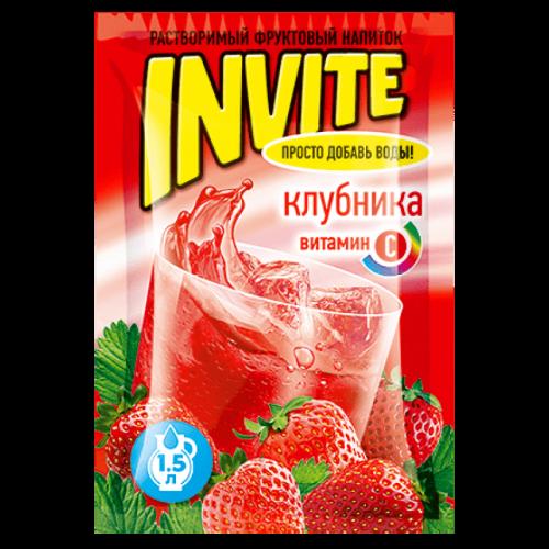 Invite Клубника 9г Артикул: 6989