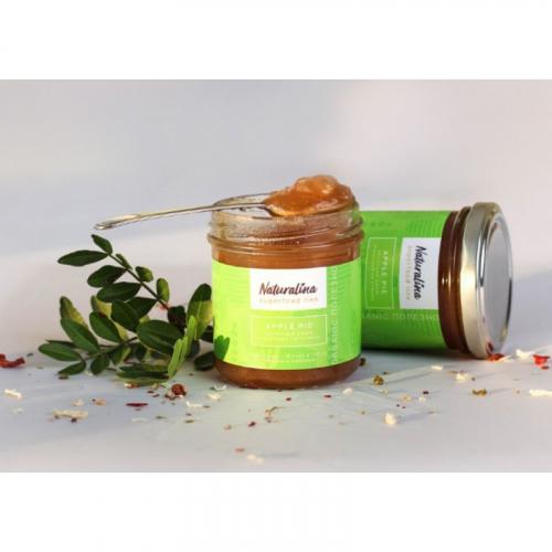 Naturalina Яблочный джем с корицей без сахара на стевии, 170 г SALE Артикул: 7239