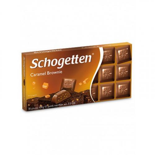 Шоколад Schogetten Caramel Brownie 100 ГР Артикул: 7420