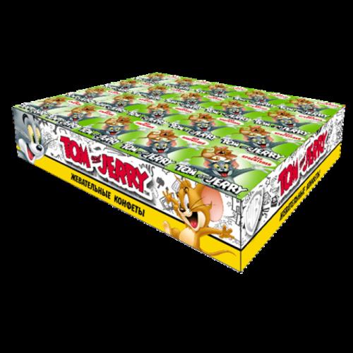 Tom and Jerry конфеты жевательные со вкусом Яблока 20 уп 250гр SALE Артикул: 7145