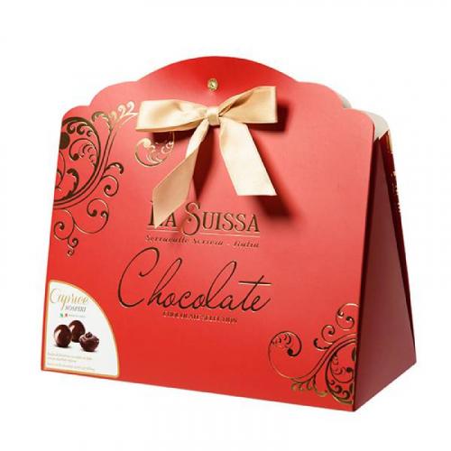 Набор Шоколадных Конфет La Suissa (красный) 200гр SALE Артикул: 5303