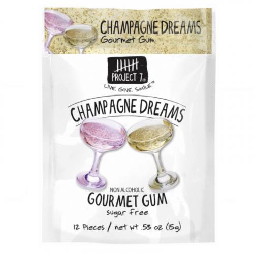 Жевательная резинка Project 7 Champagne Dreams (вкус шампанского) США SALE Артикул: 7073