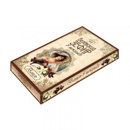 Белевский зефир в шоколаде ваниль 250гр Артикул: 6943