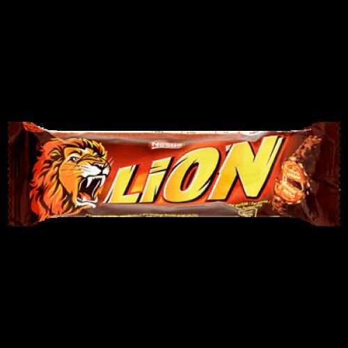 Nestle Lion шоколадно-карамельный батончик 42гр Артикул: 6878