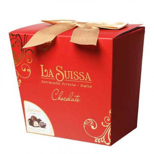 Набор Шоколадных Конфет La Suissa (красный) 450гр SALE Артикул: 5305
