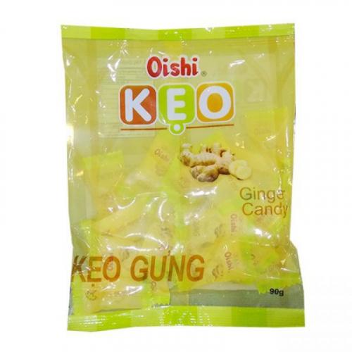 Конфеты леденцы Oishi KEO со вкусом Имбиря 90г Вьетнам Артикул: 6841