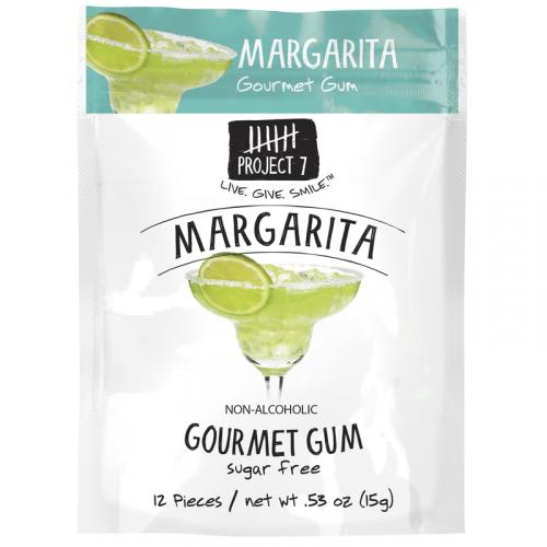 Жевательная резинка Project 7 Margarita Vida (со вкусом знаменитого коктейля) США SALE Артикул: 7071