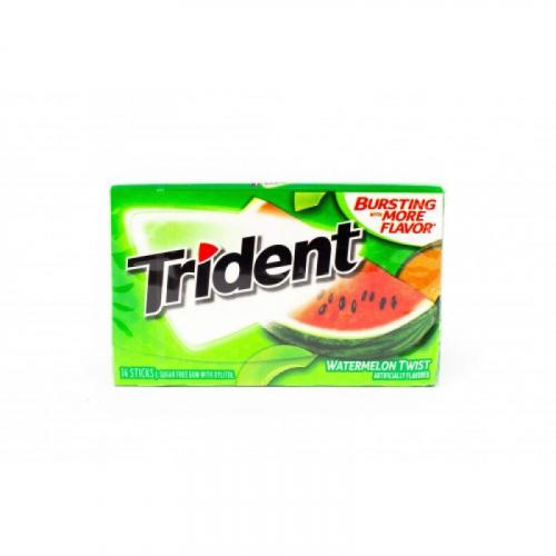 Trident Watermelon Twist Жевательная резинка Артикул: 5957