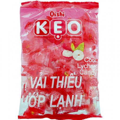 Конфеты леденцы Oishi KEO со вкусом личи 90г Вьетнам Артикул: 6838