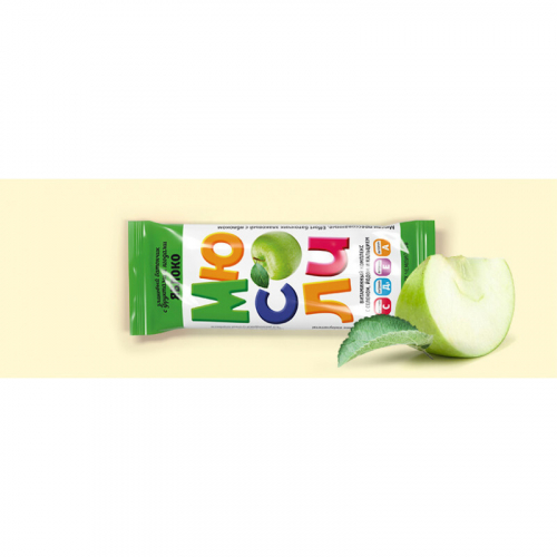 Фруктово-злаковый батончик EFFORT с яблоком 20г Артикул: 7317
