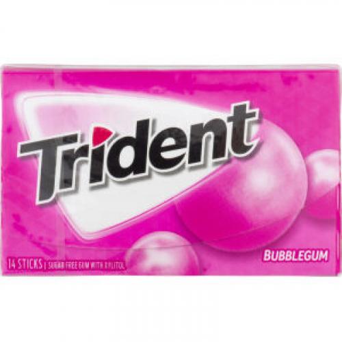 Trident Bubblegum Жевательная резинка Артикул: 7180