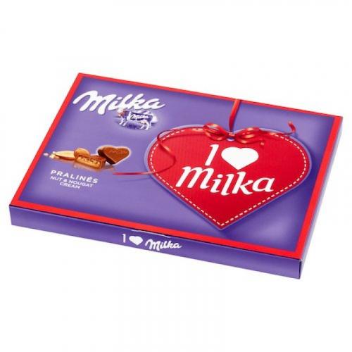 Подарочный набор шоколада Милка