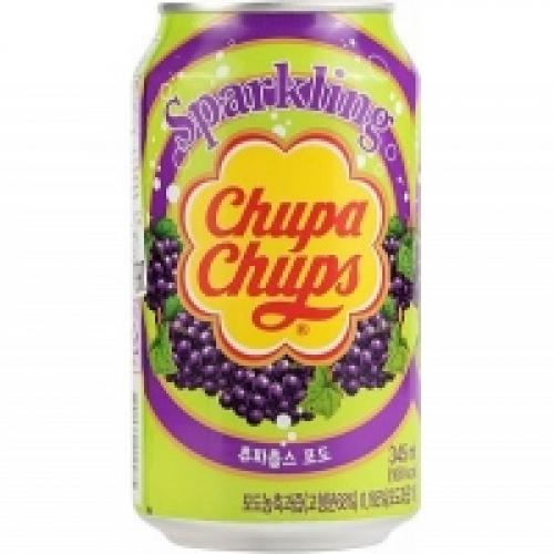 Chupa Chups Напиток газированный Виноград 345мл Артикул: 5631