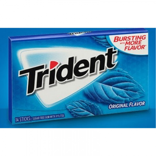 Trident Original Flavor Жевательная резинка Артикул: 7179