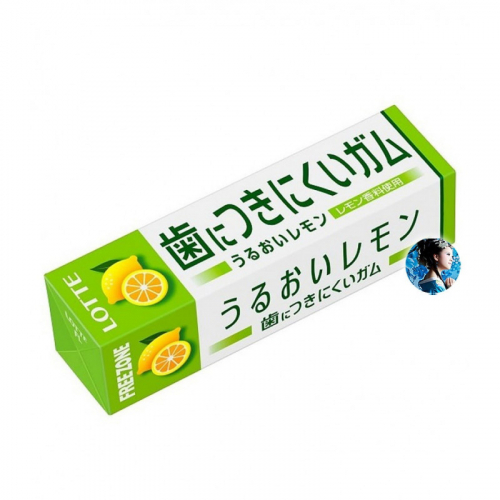 Жевательная резинка Lotte Free Zone Gum lemon Артикул: 7213