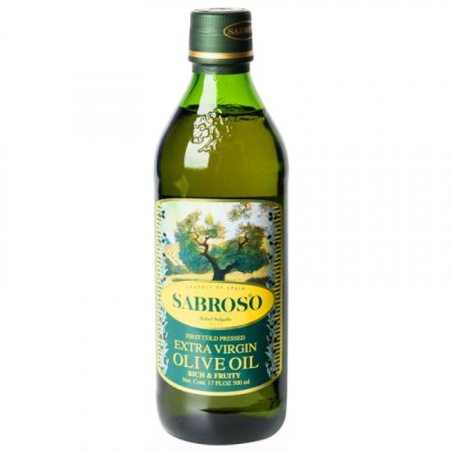 Оливковое масло Sarboso extra virgin olive oil 0,5 л (Испания) Артикул: 7334