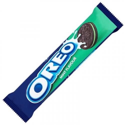 Печенье Oreo Mint Creme 154 г (мятный крем) Артикул: 5249