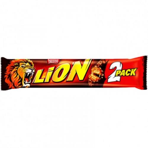 Nestle Lion Go Shoc 2 pack 60 гр Артикул: 7428
