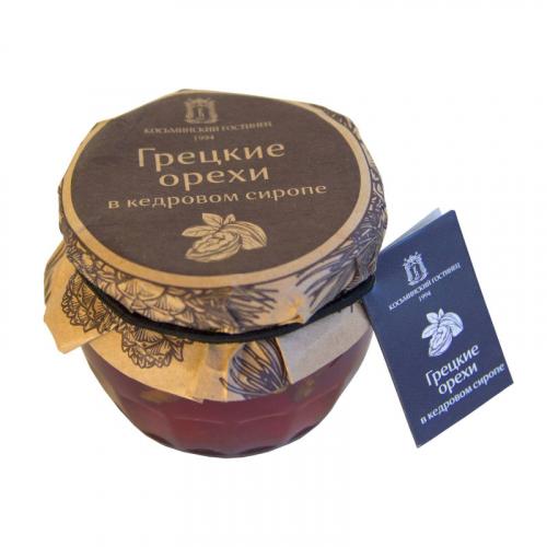 Варенье из грецких орехов в кедровом сиропе 160 гр Артикул: 7057