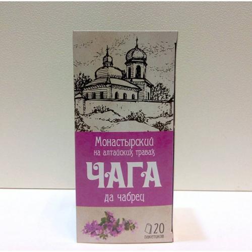 "Напиток чайный ""Монастырский на алтайских травах чага да чабрец"" Артикул: 7005"