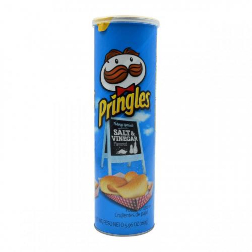 Pringles Соль и Уксус 158 гр Артикул: 7174