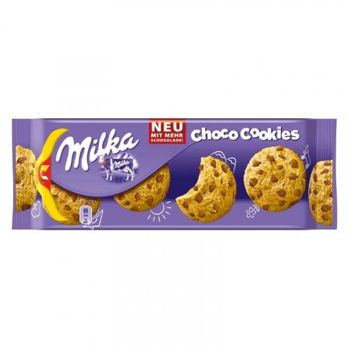 Milka Cookies Chocolate (с кусочками шоколада) 135 гр Артикул: 5253