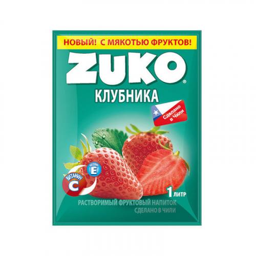 ZUKO Клубника 25г Артикул: 7217