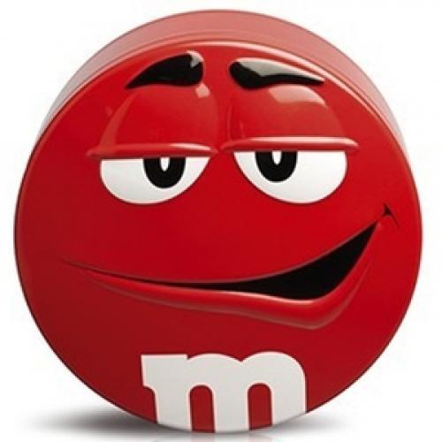 M&M's Candy Tin красный 200 г SALE Артикул: 5259