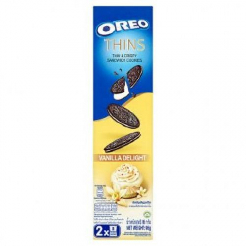 ОRЕО печенье Thin Vanilla Delight 95г Артикул: 5340