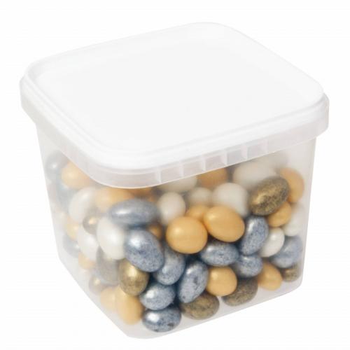 Миндаль гирлянда (разноцветный шоколад) 600гр SALE Артикул: 1279