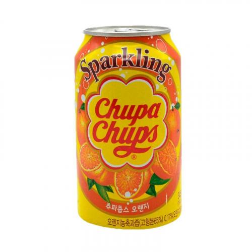 Chupa Chups Напиток газированный Апельсин 345мл Артикул: 5630