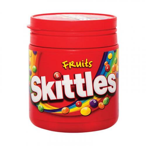 Жевательные Конфеты SKITTLES FRUITS 125гр Артикул: 5335