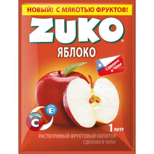 ZUKO Яблоко 25г Артикул: 6987