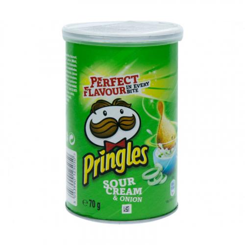 Pringles Сметана и лук 70 гр Артикул: 7425