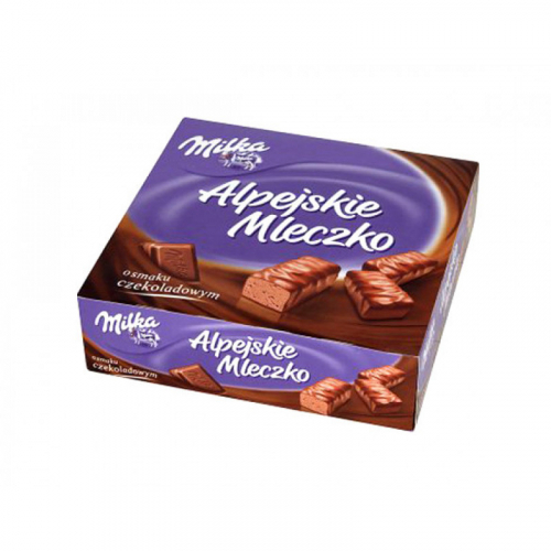 Милка шоколадные конфеты