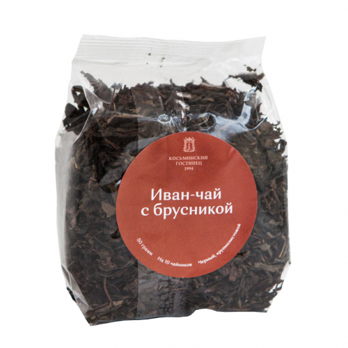 Иван чай с Брусникой, пакет 50гр Артикул: 7187